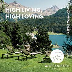 White Dot Design Dots Design, Outdoor Furniture Sets, Outdoor Decor