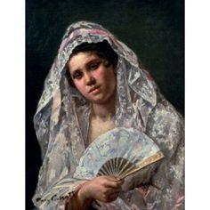 Spanish Dancer Mary Cassatt (1845-1926American) Canvas Art - Mary Cassatt (18 x 24)