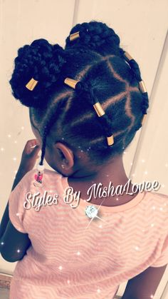 A freestyle style I did on my daughter ! IG: @nishalovee_