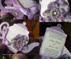 Boutique Custom Princess Tea Party Invitations Set of 10