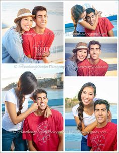 Brother and sister, captured hugging and playing. Mom loves! #BreakawaySeniors | high school | senior portraits | senior photography | brother | sister | siblings | teens | portraits | couples | beach | graduation pictures (16Ap