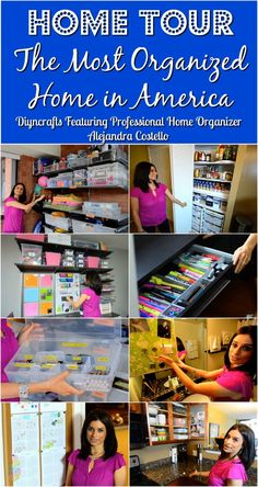 Home Tour: Meet the Most Organized Woman In America {Video}