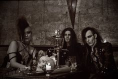 The Cemetary Girlz, Dark #Goth rock and love their style