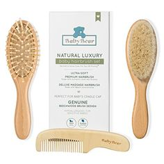 Gentlest Baby Hair Brush and Comb Set - 100% Natural Luxury - Perfect for Cradle Cap - Unique Baby Shower Gift - Perfect Baby Registry Gift - https://all4babies.co.business/gentlest-baby-hair-brush-and-comb-set-100-natural-luxury-perfect-for-cradle-cap-unique-baby-shower-gift-perfect-baby-registry-gift/  #100, #Baby, #Brush, #Comb, #Cradle, #Gentlest, #Gift, #Hair, #Luxury, #Natural, #Perfect, #Registry, #Shower, #Unique #BabyGifts