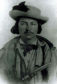 Lieutenant Pleasant Porter, 2nd Creek Cavalry, Confederate. He was praised by Cherokee General Stand Watie for capturing seven revolver armed Kansas Cavalry men at the battle of Flat Rock Ford (September 16, 1864 near Wagoner, Oklahoma). He has a Colt 1851 navy revolver.