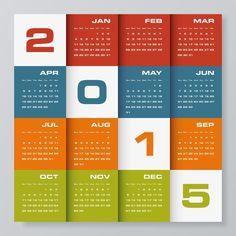Happy New Year Calendar 2015 Printable Yearly Calendar, New Year Calendar, Calendar 2014, Calendar Ideas, Free Calendar, Wall Calendar Design, Calendar Layout, Print Calendar, Kalender Design
