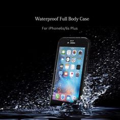 Waterproof Mobile Case for iPhone 6 6s Plus Outdoor Sport Housing Anti Water, Dust and Shock