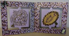 Kelly Patricia - Peace at Christmas - Accordion Die and Holly Overlay Die - Die'sire Essentials Scalloped Die -  Purple Centura Card - Gold mirror Card - Pearl Diamond Spray & Sparkle - Collall All purpose glue - #crafterscompanion #Christmas