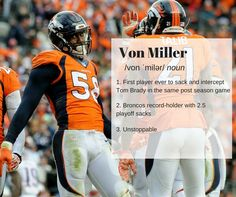 15e9e1b684c The Von Miller signed with the Broncos