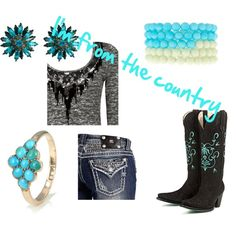 Cute country Polyvore