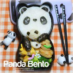 Karenwee's Bento Diary: Bento2014#Apr28~Panda Bento
