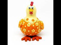 galinha cabaca bege - YouTube