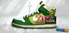 Legend of Zelda Nike Dunks- yusssssss