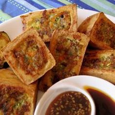 "Thai Stuffed Tofu.  All we have to say is ""Whoa!"""