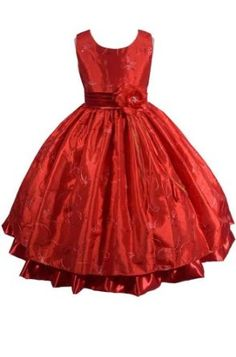 AMJ Dresses Inc Girls Red Fairy Flower Girl Christmas Dress Sizes 2 to 12,$44.99$44.99
