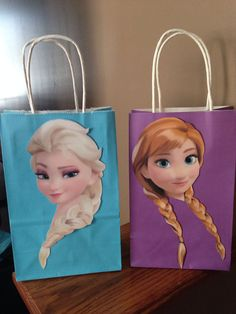 Frozen Inspired Anna Party Favor Bags by DoodlesSweetTreats