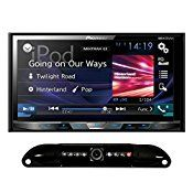 Pioneer 2-DIN In-Dash DVD Receiver MIXTRAX 7″ Touchscreen + License Plate Camera