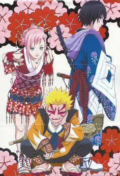 Sakura & Sasuke & Naruto | Naruto #manga