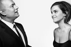 Emma Watson & Tom Hanks, photographed by Art Streiber for Esquire, April 2016..jpg (1280×854)