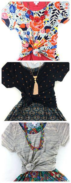 LuLaRoe Floral Classic T layered over Carly Dress #lularoe