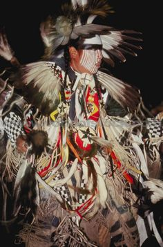 Pinned in honor of the indigenous people of North America who have influenced our indigenous medicine and spirituality by virtue of their being a member of a tribe from the Western Region through the Plains including the beginning of time until tomorrow. Native American Warrior, Native American Images, Native American Regalia, American Indian Art, Native American History, American Symbols, Indian Tribes, Native Indian, Pow Wow