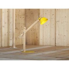 """Slope"" Table Lamp - miniforms http://www.astylishome.com/lighting/227-slope-table-lamp.html"