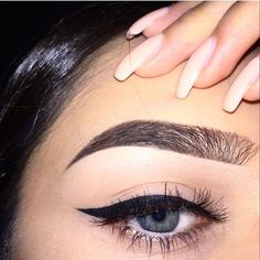 Obsession with winged eyeliner and falsies with a gold brown smokey eye at the moment!!