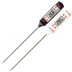 """Universe of goods - Buy """"Digital Probe Meat Thermometer Kitchen Cooking BBQ Food Thermometer Cooking Stainless Steel Water Milk Thermometer Tools for only 1 USD. Bbq Thermometer, Digital Thermometer, Stainless Steel Types, Stainless Steel Kitchen, Kitchen Oven, Kitchen Tools, Kitchen Gadgets, Buy Kitchen, Kitchen Stuff"""