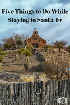 Five things to do in /cityofsantafe/. There are lots of things to do in the greater Santa Fe area from rivers to churches to a quirky gasoline museum, the area around Santa Fe has a lot to offer!