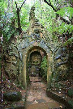 William Ricketts Sanctuary in Australia