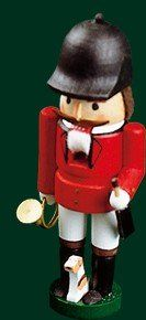 Traditional Natural Wood Mini Nutcracker Rider  32 inches -- Visit the image link more details.