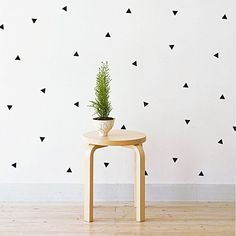 Mini Triangles Wall Decal