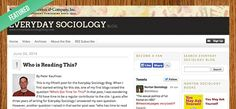 Featured Blog: Everyday Sociology