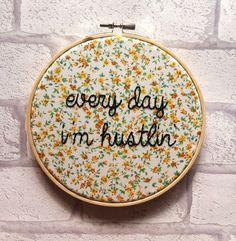Rick Ross- Hustlin' Hoop Art