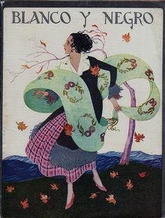 Blanco y Negro November 1924 by R. Manchon - Vintage Artistic Magazines Gallery at I Desire Vintage Posters