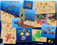 Includes all 3 CBA sets. Create a floor to ceiling aquarium of any size! Use this superset of decorative sea creatures to populate the aquarium. Walls and floors also included. Frameless windows by...