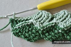 MyPicot is always looking for excellence and intends to be the most authentic, creative, and innovative advanced crochet laboratory in the world. Afghan Patterns, Crochet Blanket Patterns, Baby Blanket Crochet, Crochet Stitches, Crochet Afghans, Basket Weave Crochet, Crochet Scrubbies, Crochet Designs, Cross Stitch Designs