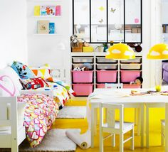Kritter Childrens Table, White - modern - kids tables - IKEA for my niece ... room ideas