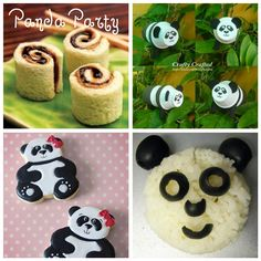 Panda party!! It's like what's happening in my head 99% of the time.
