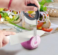 Onion Slicer All-in One Odor Remover and Chopper