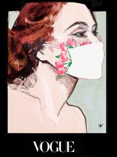 Debut Gowns, Art Inspo, Illustration Art, Vogue, Instagram, Drawings, Face, Choices, Masks