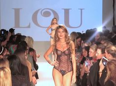Lou Paris  - CURVExpo Lingerie Fashion Show, Feb 2014