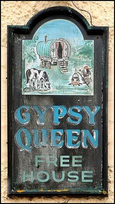 gypsy queen for my gypsy trailer..