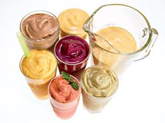 20 Super-Healthy Smoothies — These delicious healthy smoothie recipes make it easy to eat healthy with fruit, milk, immune-boosting yogurt, and other nutritious ingredients. Breakfast Smoothie Recipes, Green Smoothie Recipes, Yummy Smoothies, Yummy Drinks, Healthy Drinks, Healthy Recipes, Ginger Smoothie, Kiwi Smoothie, Eat Healthy