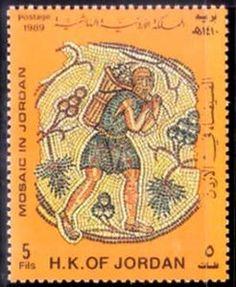 Mosaic in Jordan
