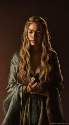 Cersei Lannister study by andrada-radu.deviantart.com on @DeviantArt