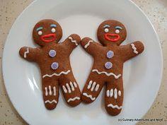 Gingy Gingerbread Cookies | It remembers me Shrek...