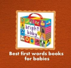 First Words Books For Babies