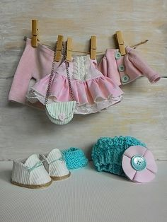 Doll clothes by JuliettaDoll on Etsy