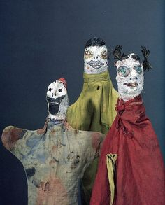 Paul Klee's hand puppets.